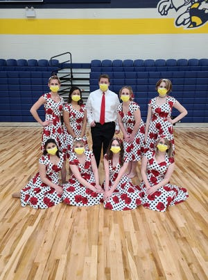 The Stephenville High School Winterguard competed during a contest on Feb. 27. The group placed 2nd in the NTCA virtual contest.