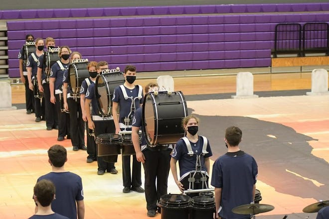 The Stephenville High School Yellow Jacket Band Indoor Drumline participated in its first live NTCA competition of the season on Feb. 27 at Alvarado and earned second place.