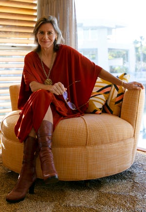 Anne-Marie Russell, photographed at the historic Cocoon House on Siesta Key, has been named the executive director of Architecture Sarasota, which was created by the merger of the Sarasota Architectural Foundation and Center for Architecture Sarasota.