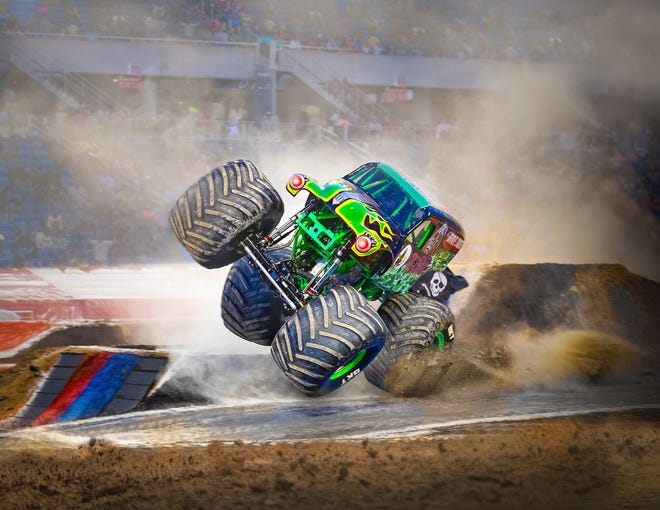 Monster Jam, the monster truck event produced by the Manatee County-based Feld Entertainment, returns Friday-Sunday to Tampa's Raymond James Stadium.