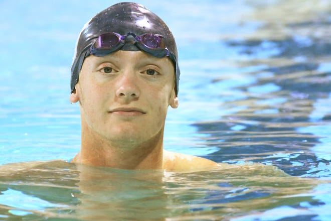 Hoggard's Will Parker is the StarNewsVarsity All-Area Boys Swimmer of the Year.