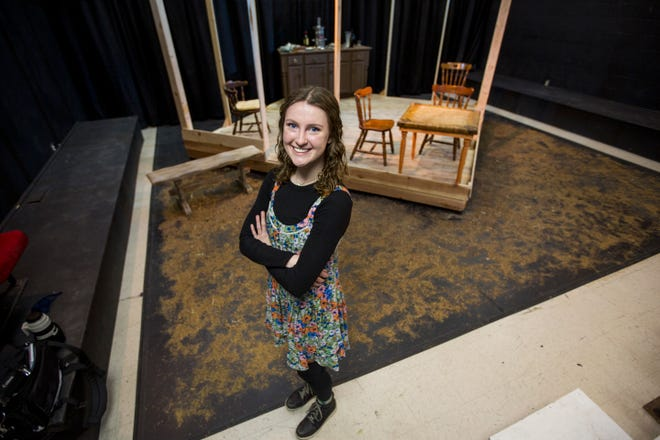 Ann Stegman, a senior at Hayden Catholic High School, found a passion in choreography as a freshman in the school's theater department that would kick off a career ambition to one day be an elementary school teacher.