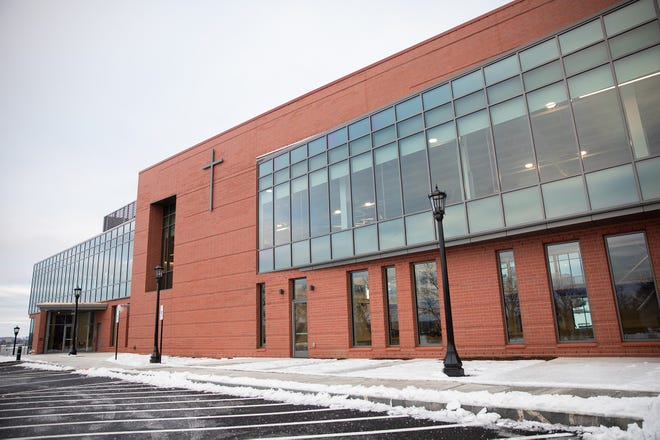 The College of the Holy Cross opened the Joanne Chouinard-Luth Recreation and Wellness Center Monday.