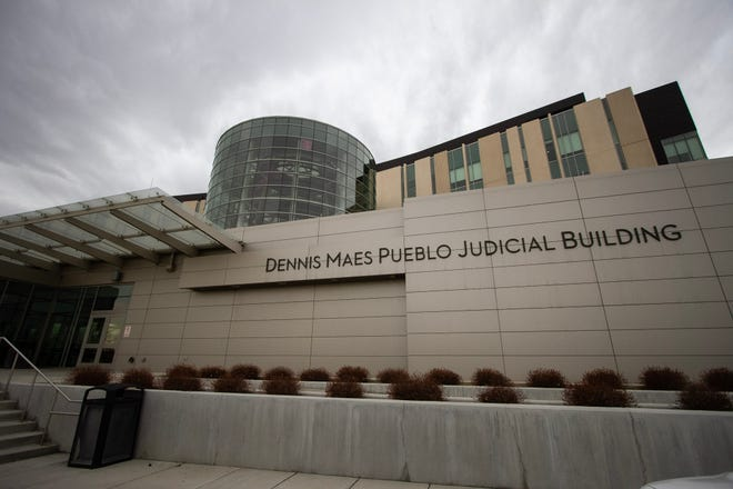 The Dennis Maes Judicial Building is located at 501 Elizabeth Street.