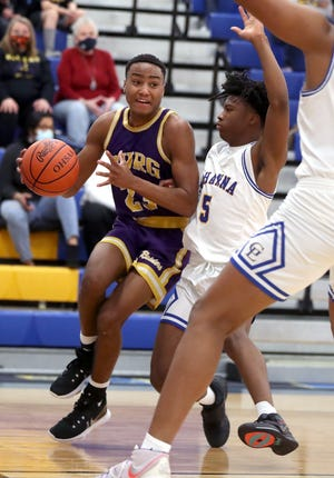 Reynoldsburg senior guard Josiah Mobley averaged 14.5 points and was first-team all-league and third-team all-district as the boys basketball team reached a Division I district final and finished 13-8.
