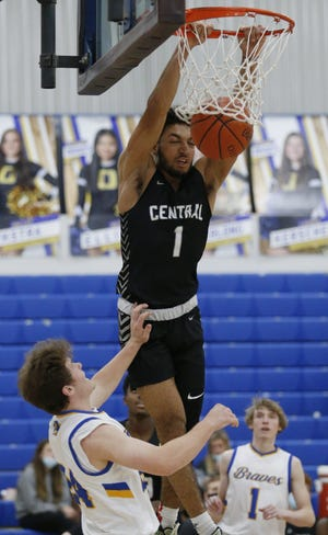 Westerville Central's Tasos Cook was named the Division I district boys Player of the Year.