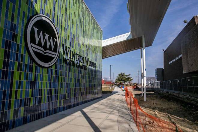 The grand opening of the Winton Woods North Campus in Forest Park was held Monday, March 8, 2021. The building is for grades 7-12. In 2016, a levy was passed to build two new campuses, including a K-6 campus in Greenhills. Winton Wood City Schools is a New Tech Network district focused on project-based learning.