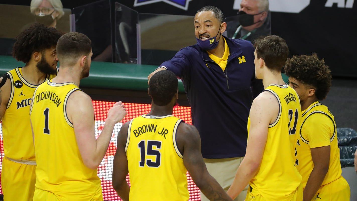 Michigan basketball limps into postseason, hoping for good news on Eli Brooks' ankle - Detroit Free Press