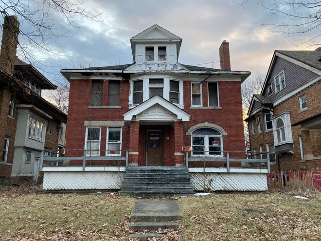 This house on East Grand Boulevard was purchased by HGTV star Nicole Curtis, but she got it from a seller who fraudulently sold it to her, city officials say.