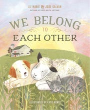 """""""We Belong to Each Other"""" by Liz Marie and Jose Galvan is about a lamb who finds her home and family with many other creatures."""