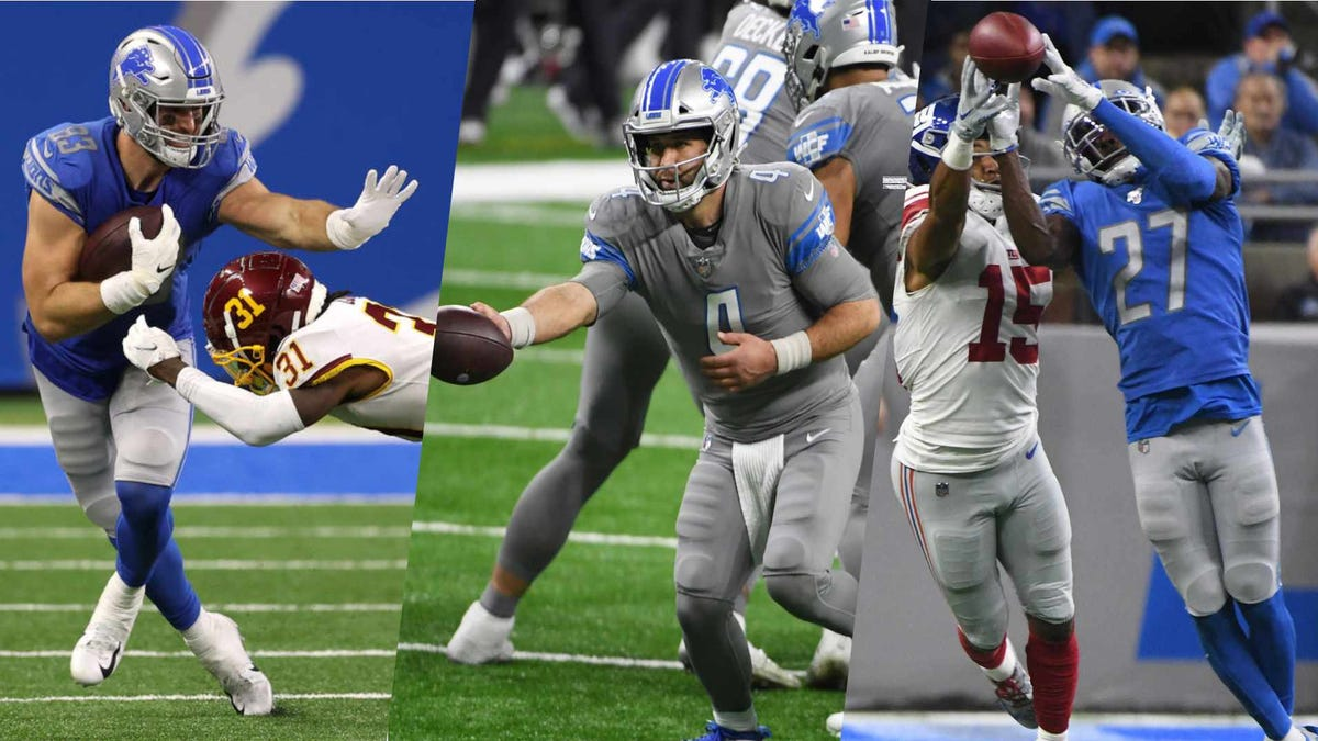 Lions still facing multiple roster decisions ahead of new league year 2