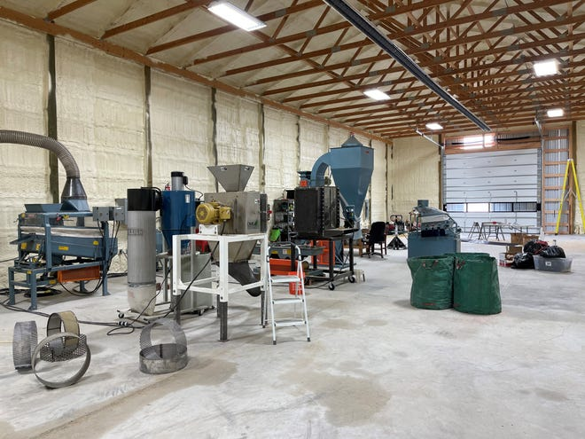 Ag Processing Solutions of Great Falls was one of 30 businesses to receive a grant or loan through Montana's Growth Through Agriculture program.  Ag Processing Solutions will use the $50,000 grant to complete a processing center for the development of hemp hearts and pulse proteins