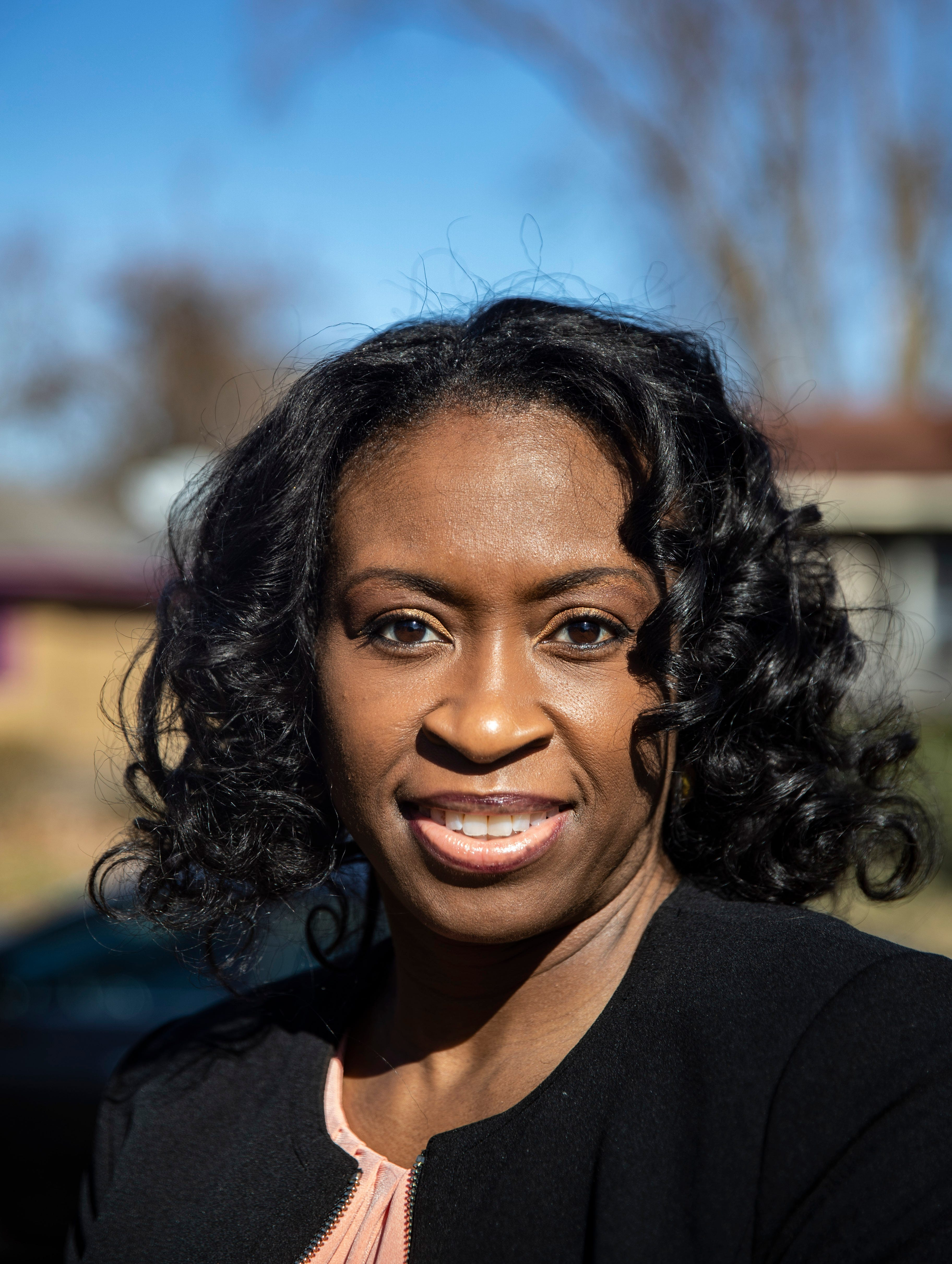 Central High School educator Kimberly Owens-Pearson in Memphis, Tenn., on Saturday, March 6, 2021.