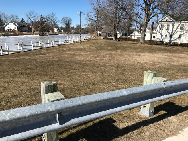 Marine City officials are planning to purchase property at 610 S. Main St. and a neighboring vacant parcel along the Belle River for a public marina. Discussions began earlier this year.