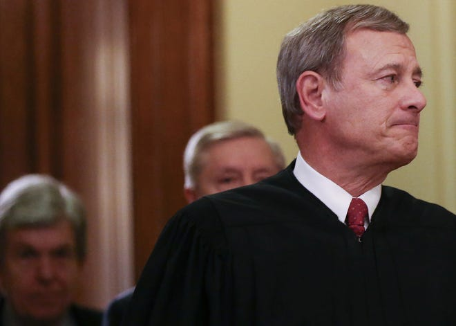 In 2018, Chief Justice John Roberts asserted that Americans would not trust a court that used math to settle a gerrymandering dispute. (Mario Tama/Getty Images/TNS)