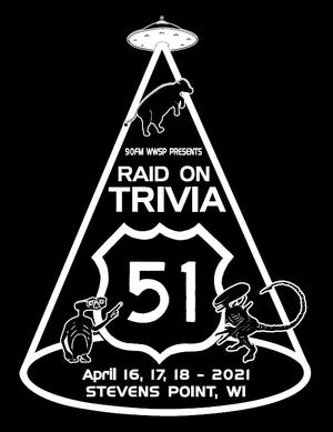 Trivia will be held April 16-18, 2021 in Stevens Point.