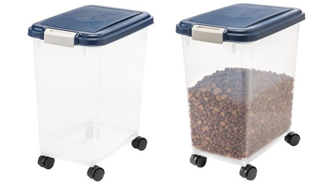 Finding pests in pet food is a nightmare, but these bins should prevent that from ever happening.