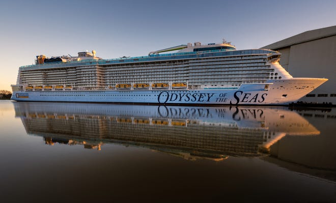 The Odyssey of the Seas is being postponed after crew members tested positive for the coronavirus.