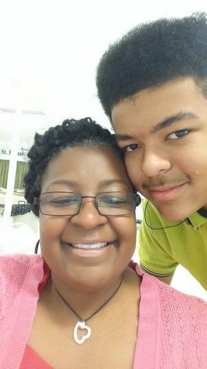 Teresa Beall and her son, Ryan, of Brandywine, Maryland. (Photo courtesy of Teresa Beall)