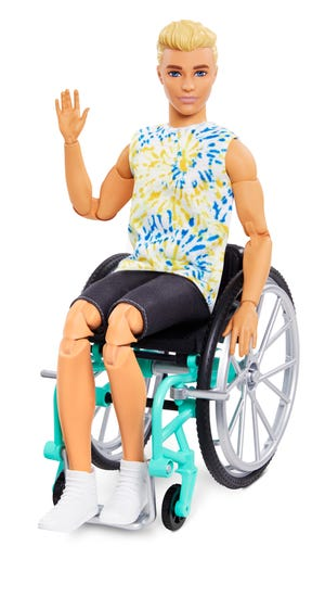 Ken doll from 2021.