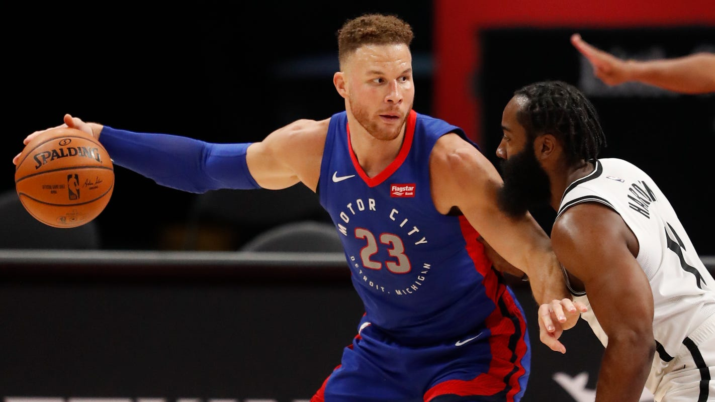 Blake Griffin will sign with Brooklyn Nets, adding depth to their frontcourt - USA TODAY