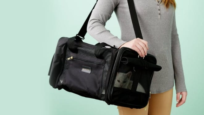 Flexible and collapsible, these carriers fit easily in my limited storage space.