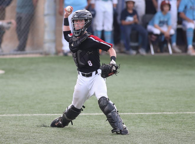 """Catcher John Riden is part of a gifted Lake Travis squad that hopes to defend its district title and make another run to the state tournament. Riden, a three-year starter at catcher, is just as important as the Cavs' impressive collection of arms, says Coach Mike Rogers. """"You want somebody back there you can trust,"""" Rogers said."""