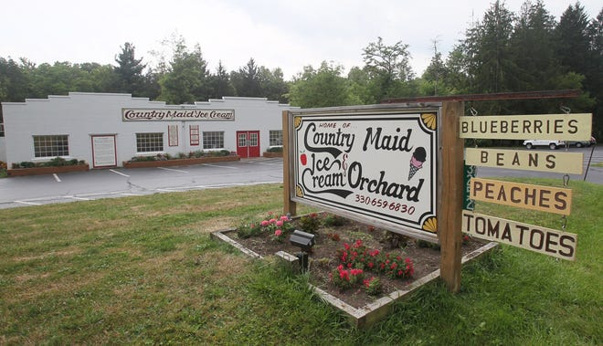 Country Maid in Richfield Township has been making ice cream since 1948.