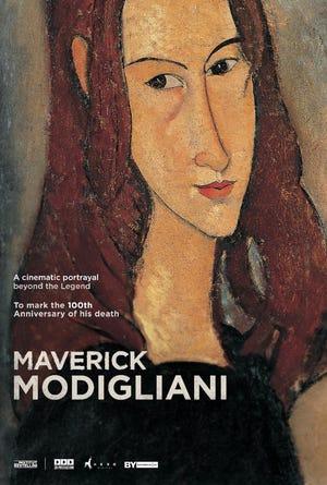 """Maverick Modigliani"" film to show at The Goddard Center on Saturday, March 13th at 2pm."