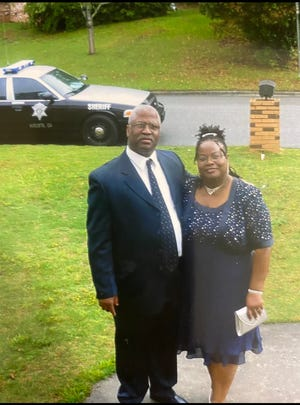 Charles and Veronica Norton were married for 39 years before he died from COVID-19 in September. He was a Richmond County deputy for 22 years and had served in the Army for 20 years.