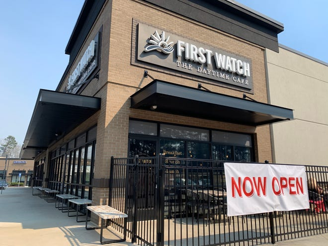 First Watch, which offers breakfast, lunch and brunch, has opened for business on Crane Creek Drive near Sprouts Farmers Market.