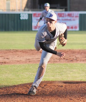 DeRidder pitcher Alex Brannan had a hit and two RBIs, while pitching just over four innings to lead the dragons, 7-6.