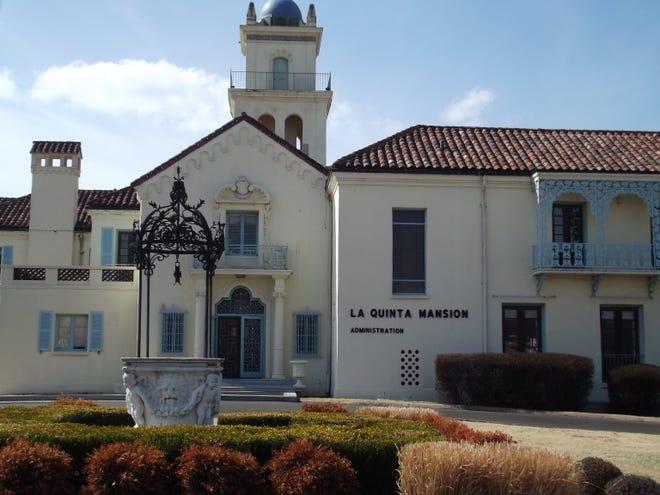 La Quinta Mansion Administration building at Oklahoma Wesleyan University