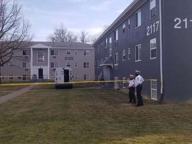 Columbus Division of Police homicide detectives have determined that the death of a woman whose body was found Tuesday afternoon by a maintenance worker in her apartment in the Columbus Park apartments complex (shown in this photo) was a homicide, but are withholding how she died while they investigate.