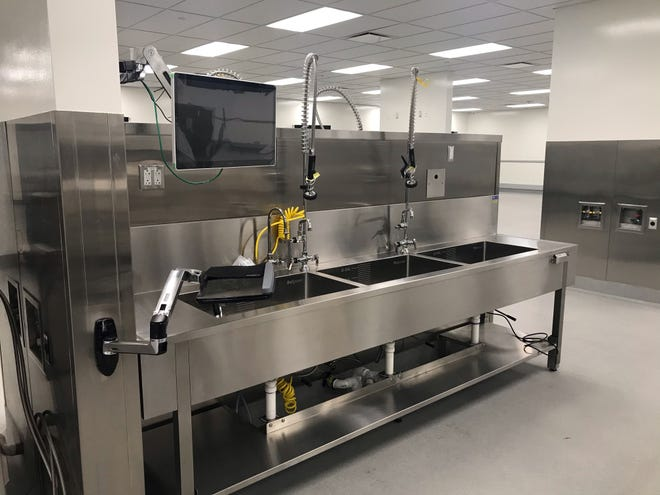 The Ohio State University Wexner Medical Center's new surgical tool sanitization hub is the first of its kind in Ohio.