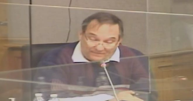 Terrebonne Council Member Gerald Michel addresses the council's Budget and Finance Committee meeting Monday.
