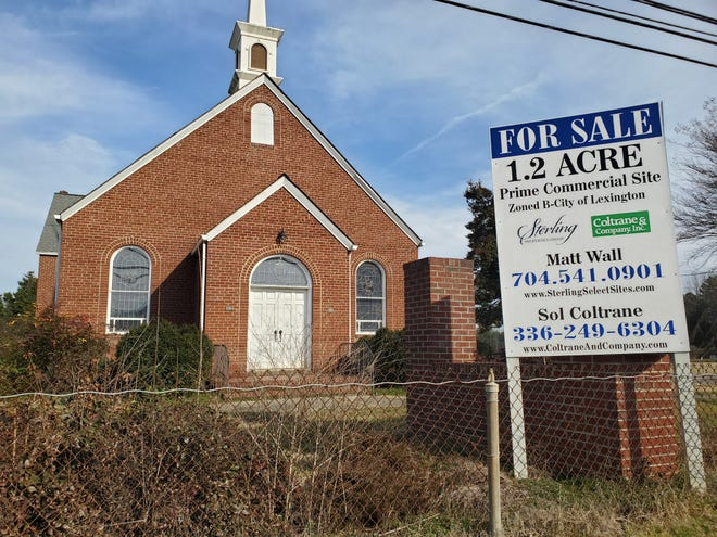 The former Fairmont Presbyterian Church building property on Cotton Grove Road is on the verge of being sold to a commercial development company based in Charlotte. If the sale is finalized, the church will be demolished to make way for two commercial buildings for restaurants, retail and office space.