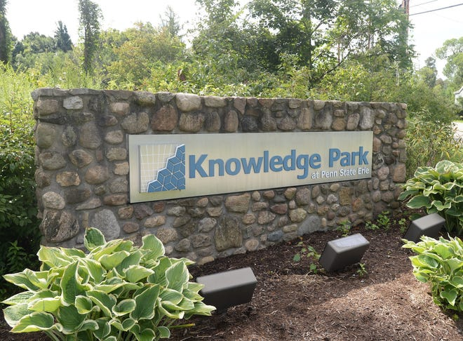 A sign at Knowledge Park is shown in this 2016 file photo.