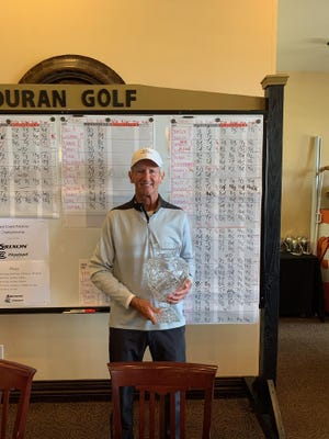 Fort Madison's Jim Butler won the Super Senior division of the Space Coast Amateur at Duran Golf Club in Viera, Florida.