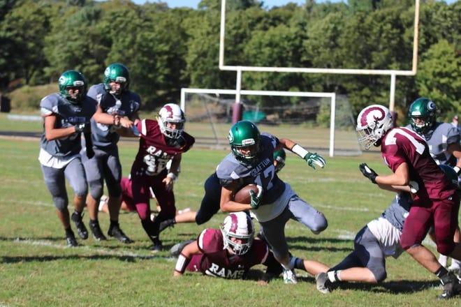 Logan Young (17) is embarking on his final football season for Grafton High School.