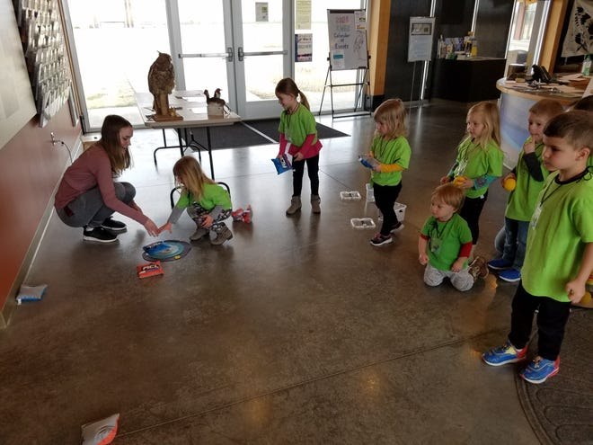 Cutline:The Kansas Wetlands Education Center is providing spring break activities each day from 1 to 5 p.m. March 15-19. Each day has a different theme!