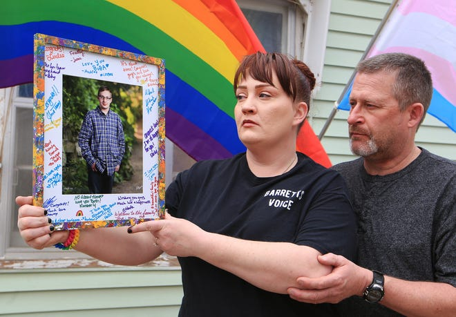 Barrett Miller is remembered by his mother Jackie Crites and stepfather Darrin Crites. Miller was 14 when he felt he couldn't take the pressure of school and bullying and took his life. To help students like her son, Jackie is working to help schools be more aware of mental health issues.