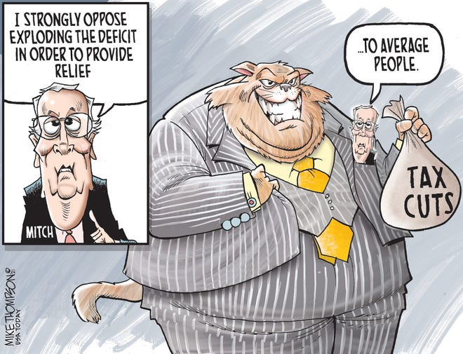Today's editorial cartoon (March 10, 2021)