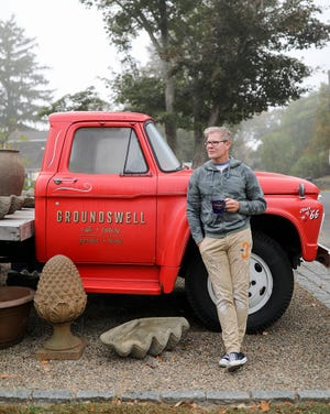 After years of creating coffee shops for others, designer David Fierabend was anxious to open his own. When the former home of The Provender became available in Tiverton Four Corners, he knew he'd found his spot.