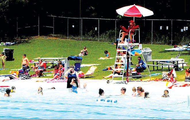 The Oak Ridge Outdoor Swimming Pool.