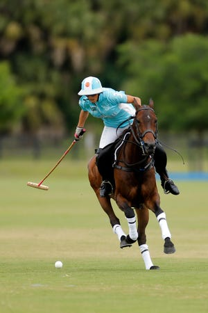Mia Cambiaso is a member of the two-time defending champion Hawaii Polo Life polo team