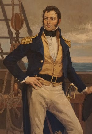 Newport's Commodore Oliver Hazard Perry, hero of the Battle of Lake Erie, was the son of Sarah Wallace (Alexander) Perry, a native of Newry in County Down, Ireland.