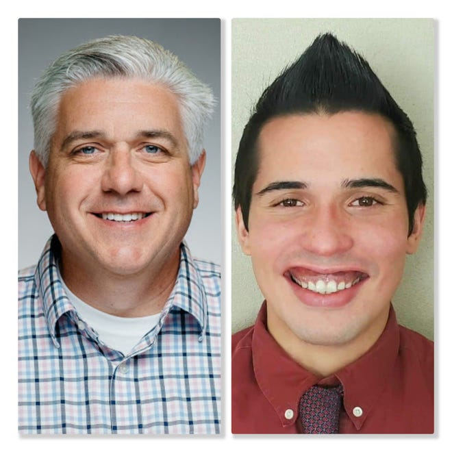 Rockford Alderman Kevin Frost, R-4, is facing a re-election challenge from Democratic challenger Bryan Amezquita in the April 6 consolidated election.