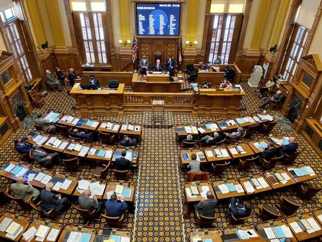 File photo of the Georgia Legislature.