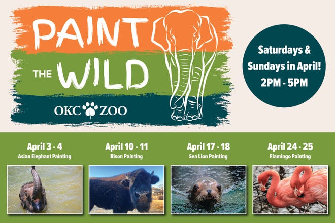 Paint the Wild at the OKC Zoo.